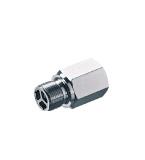QC with non-return valve