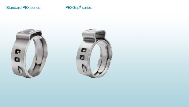 Stepless Ear Clamps PG 167 PEX US-1