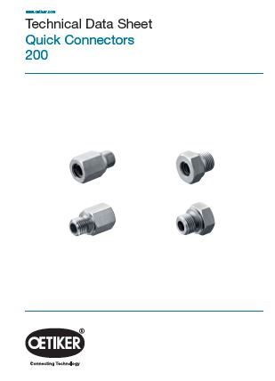Technical Data sheet PG 200