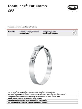 Technical Data sheet PG 293